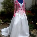 La robe de face AVANT