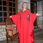 Robe XIIe siècle époque Aliénor d'Aquitaine